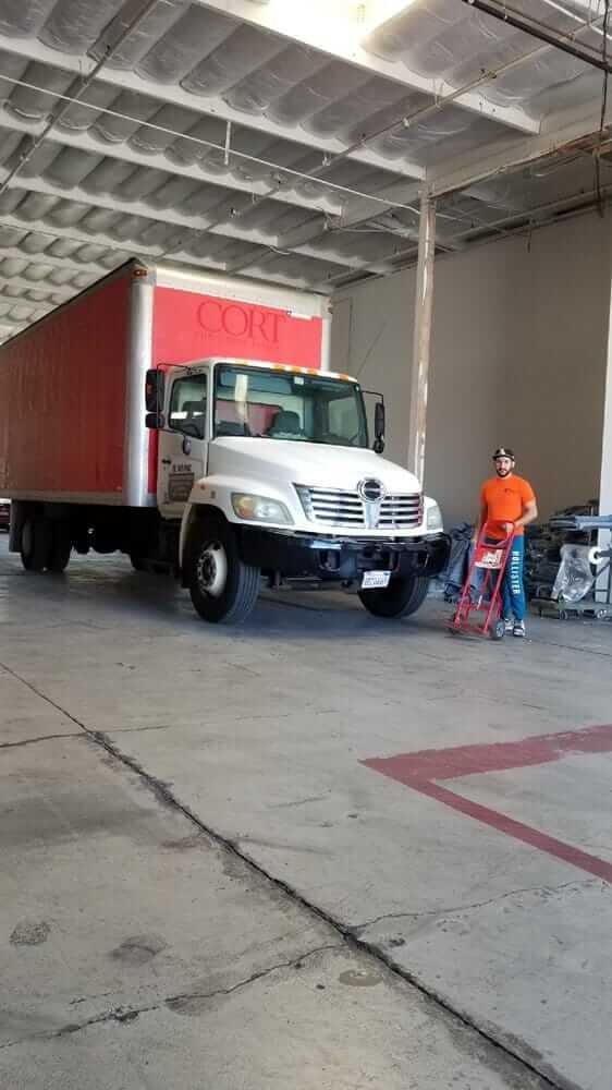 A professional orange county mover